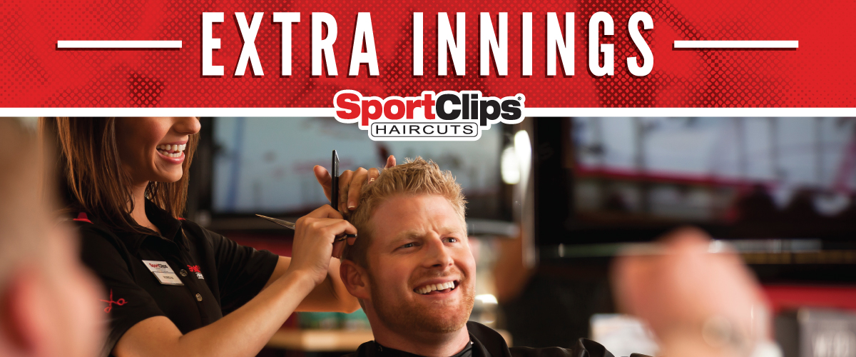 The Sport Clips Haircuts of Yukon Extra Innings Offerings